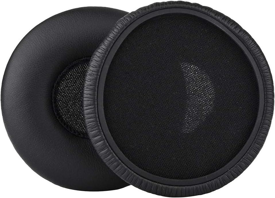 Y50 Earpads Soft Replacement Gaming Headset Ear Pad Earpads Repair Parts Compatible with AKG Y50 Y50BT Y55 Headphones Black