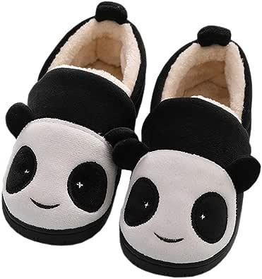 Zapatillas de Estar por Casa para Niñas Niños Invierno Zapatillas Interior Casa Caliente Pantuflas Suave Algodón Calentar Zapatilla Mujer Hombres