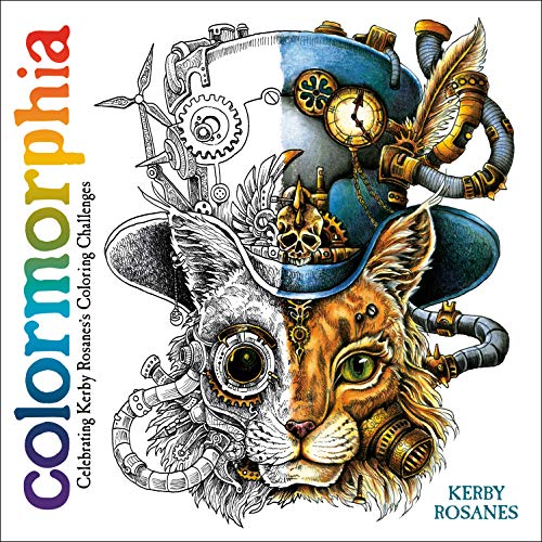 Pdf Crafts Colormorphia: Celebrating Kerby Rosanes's Coloring Challenges