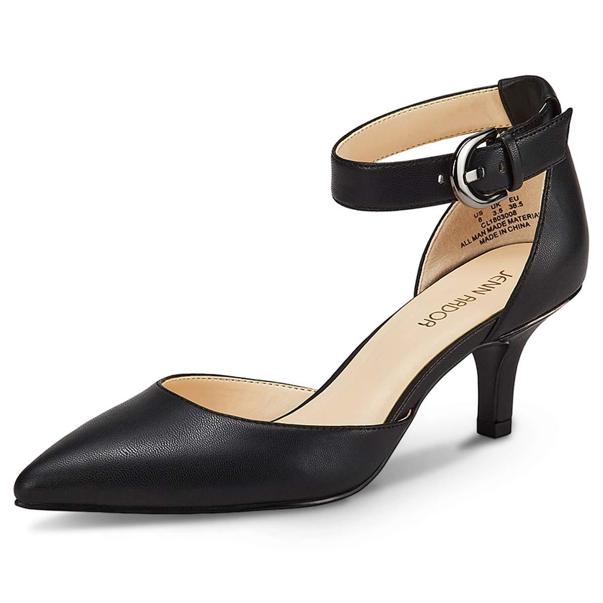 Scarpe Corte da Donna Scarpe col Tacco da Donna Scarpe da Donna con Tacco a Punta Chiuse per la Festa Nuziale