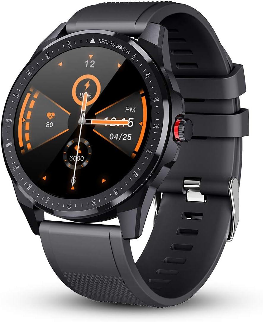 Gokoo Smartwatch Fitness Tracker Herren Männer Sportuhr Elektronik