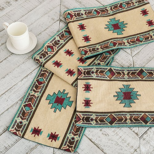 Hopi Southwestern Table Runner Rustic product image