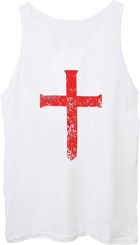 IMAGE Canotta Unisex Crociati Croce Medievale Templari-Famosi