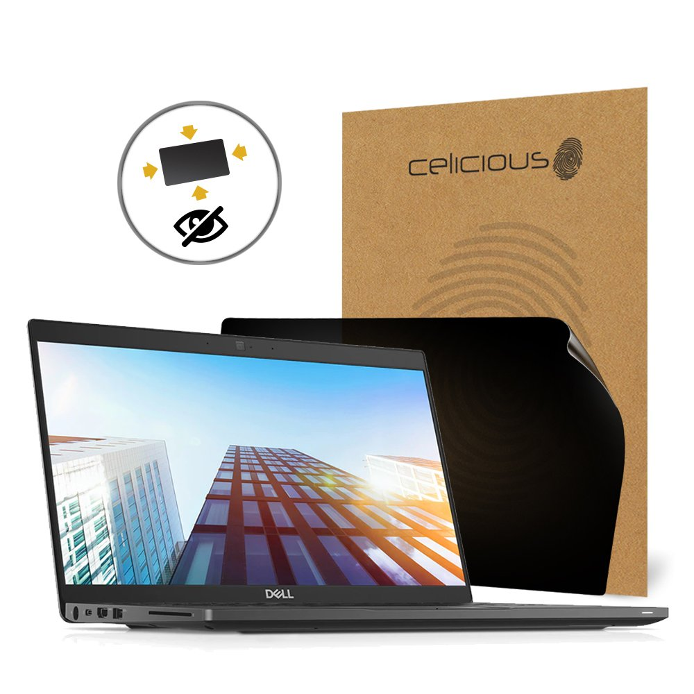 Celicious Privacy Plus 4-Way Anti-Spy Filter Screen Protector Film Compatible with Dell Latitude 13 7390