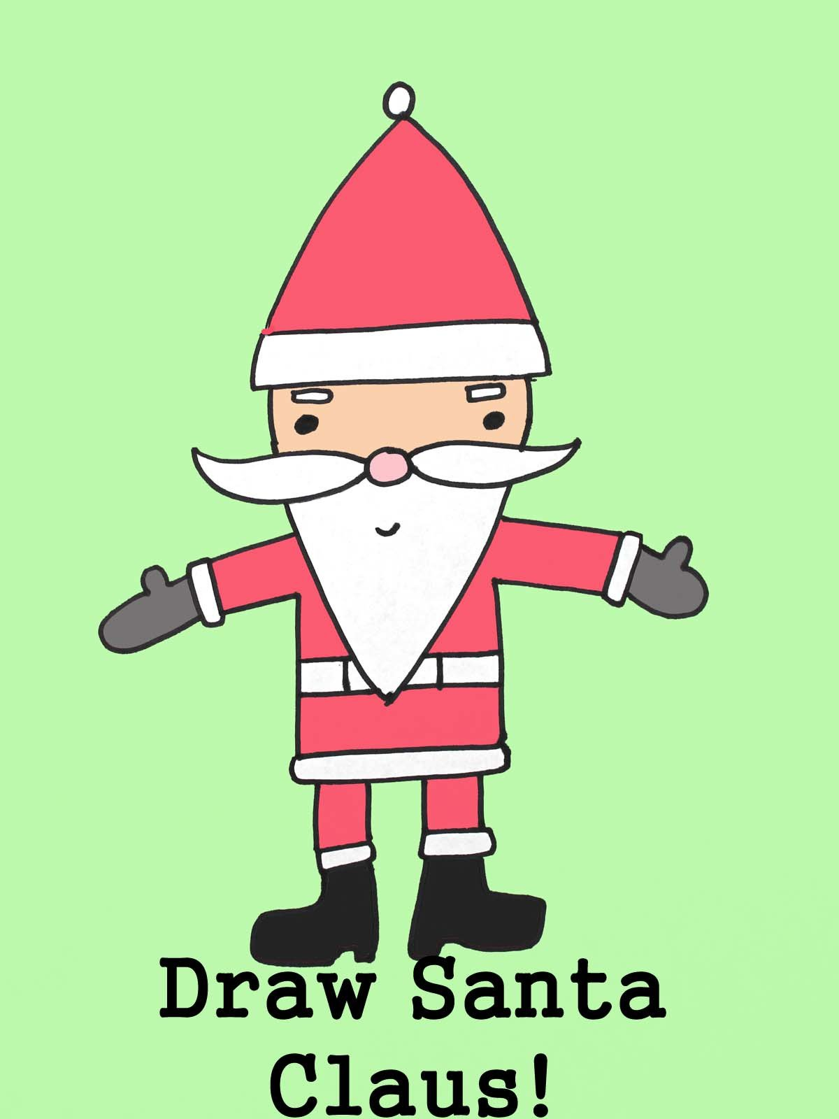Watch Draw Santa Claus For Christmas Prime Video