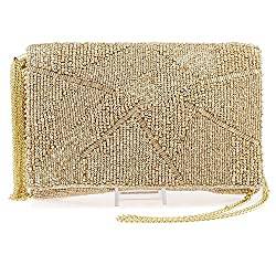 Beaded Mini Crossbody Pouch