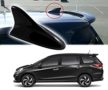 Auto Pearl Black Shark Fin Replacement Signal Receiver Antenna For