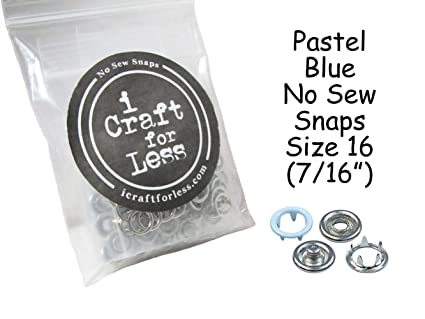 Nickel 4-Sets Dritz 670-65 Snap Fastener Kit with Tool 7//16-Inch Size 16