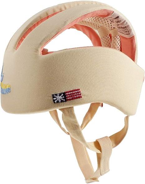 Toygogo Casco De Seguridad Para Bebés, Gorro Protector Ajustable ...