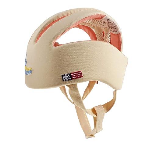 Baoblaze Casco De Seguridad Para Niños Pequeños Protección Para La Cabeza Sombrero Protector De Cabeza Gorra
