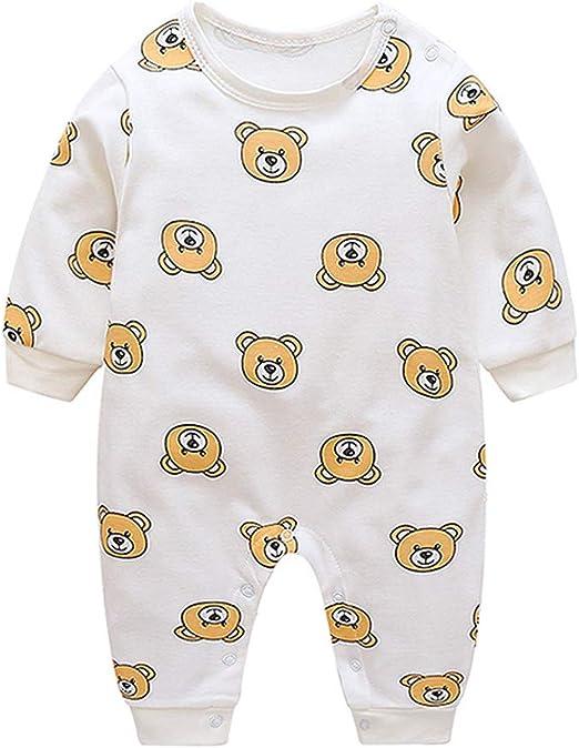 FBGood Pijama Estampado, diseño de Oso de bebé y niña de algodón ...