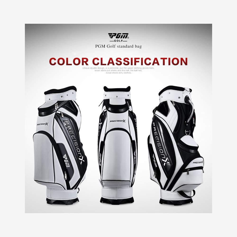 PGMゴルフスタンダードボールパッケージゴルフクラブバッグゴルフボールPUバッグ防水容量スタンダード14クラブ テレビで話題 2 選択 B07PHJT2WT