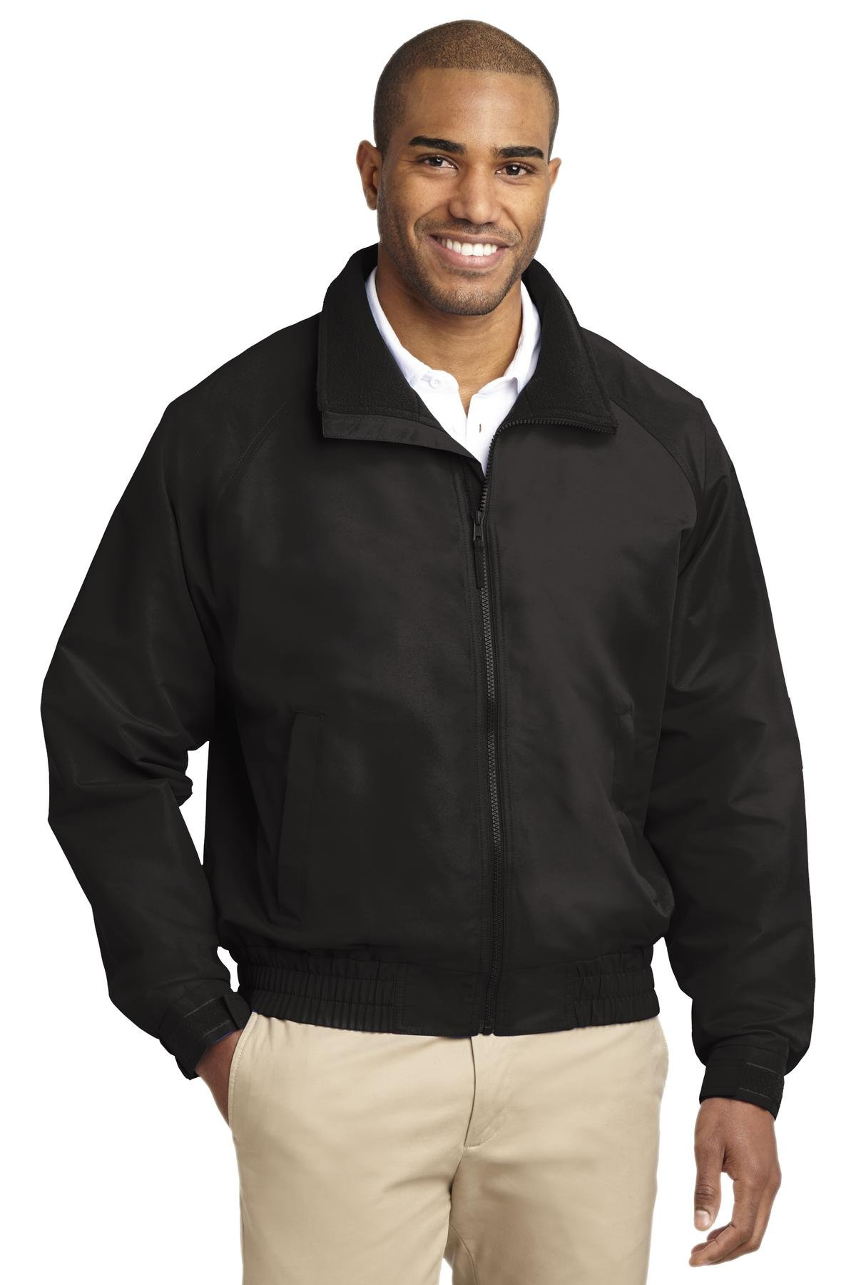 Port Authority Men's Lightweight Charger Jacket S True Black