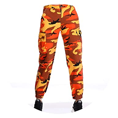 Image Unavailable. Image not available for. Color  Streetwear Women s Red  Camouflage Pants ... 283782340