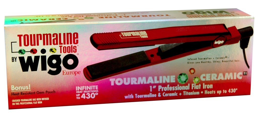 Wigo Tourmaline Ceramic Flat Iron 1