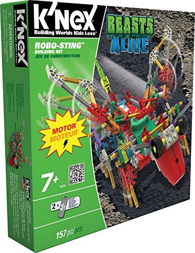 (K'NEX Beasts Alive - Robo-Sting Building Set)