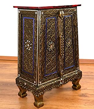 Mosaic double door cabinet, handmade in Thailand from glas mosaic ...