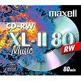 Maxell CD-RW80 Audio Pack 10 rewritable discs rewritable blank media