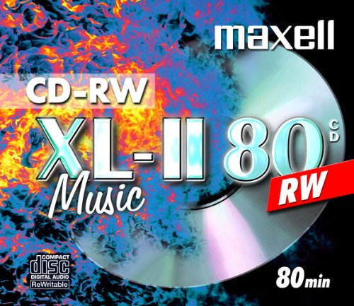 Maxell CDRW80 Audio Pack 10