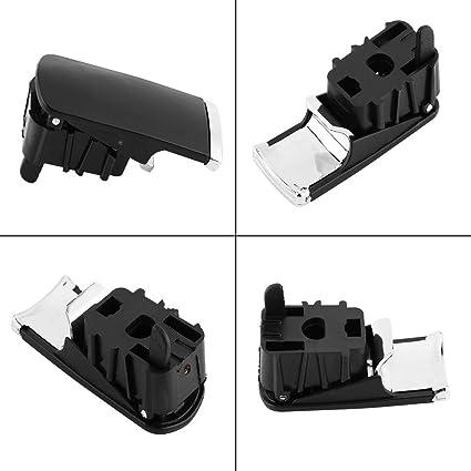 Maniglia vano portaoggetti fibbia nero Portaguanti estrattore per A4//8E//B6//B7 si-a0290