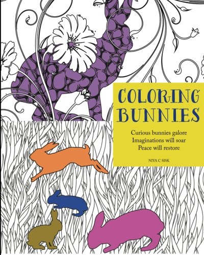 Coloring Bunnies: Adult Coloring Book