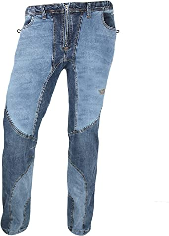 Jeanstrack Garbi Jeans - Pantalón de Escalada - Trekking Hombre