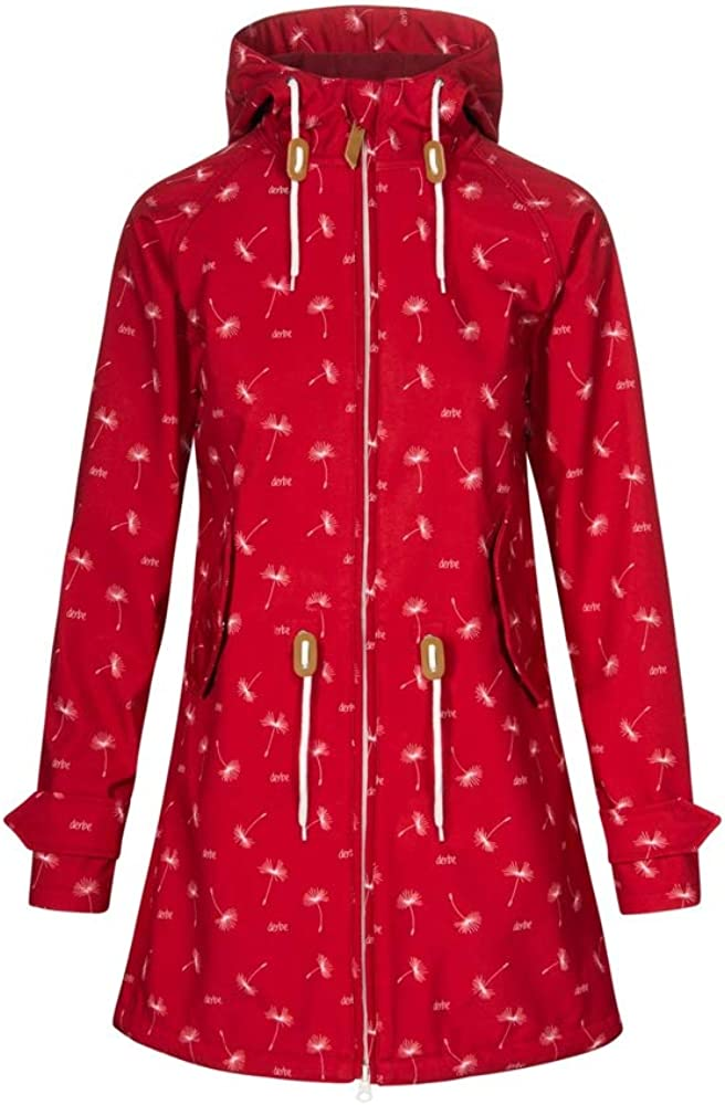 derbe damen jacke island friese dots jacket