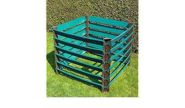 Plástico profesional jardín compostador 1000lprofikomp1000l: Amazon.es: Jardín