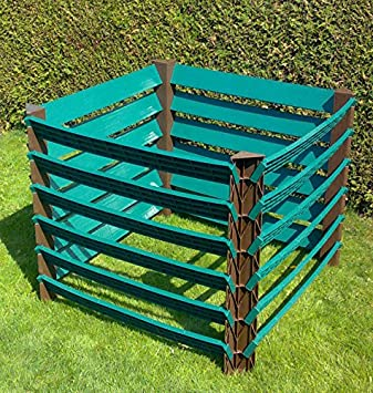 Plástico profesional jardín compostador 1000lprofikomp1000l