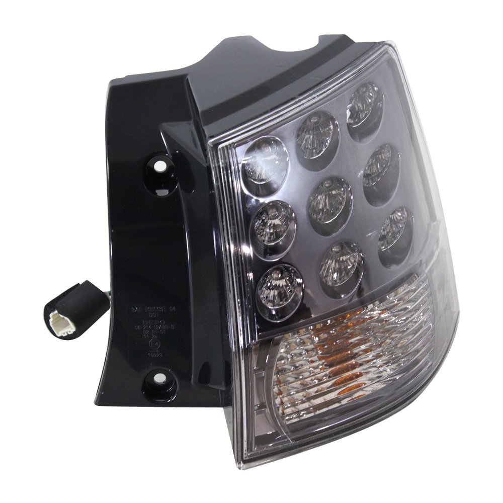 Evan Fischer Eva15672045393 Tail Light For Mitsubishi Outlander Wiring Harness Lights 07 13 Outer Assembly Right Side Automotive