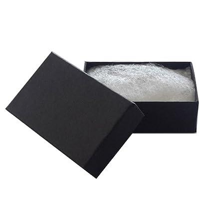 Amazoncom JPI DISPLAY 21 Cotton Filled Paper Jewelry Boxes Matte