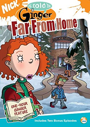 Amazon.com: As Told By Ginger: Far From Home: Melissa Disney ...