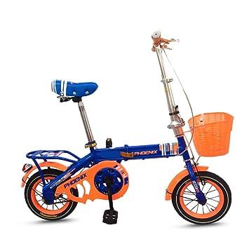 Xiaoping Bicicleta para niños 16 Pulgadas Bicicleta Plegable Chico ...