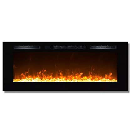8604352f9ce0 Regal Flame Fusion 50 quot  Crystal Built-in Ventless Recessed Wall Mounted  Electric Fireplace Better