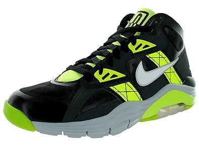 Men's/Women's Nike Lunar 180 Trainer Sc Training Shoe Black/White/Anthracite/Volt 201420152016