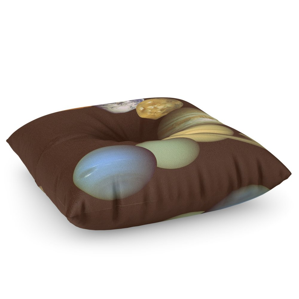 Society6 The Solar System Floor Pillow Square 30'' x 30''