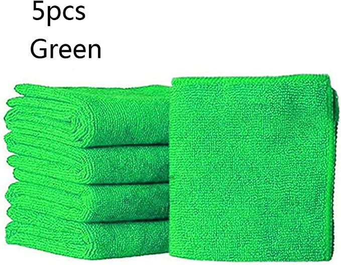 10 x Microfiber Cleaning Detailing Cloths Wash Duster Towels Auto Car Soft Rag