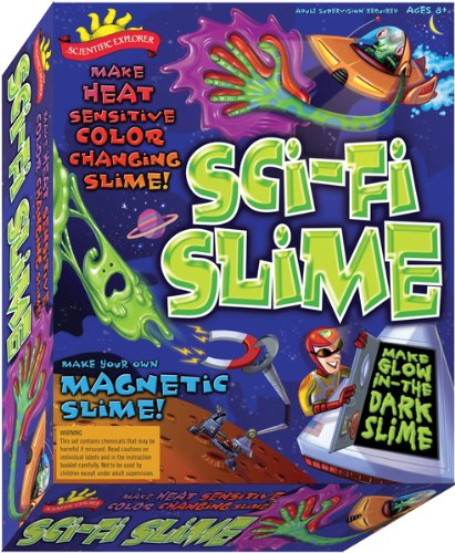 Scientific Explorers Sci-Fi Slime Kit- , Kid ,Toy , Hobbie , Nice Gift