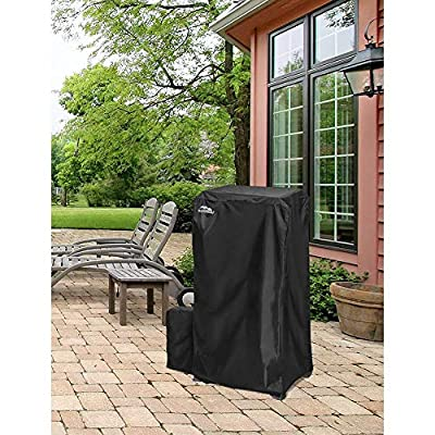 Masterbuilt 44 Inch Weather and Fade Resistant Propane Gas Smoker and Tank Cover by Masterbuilt