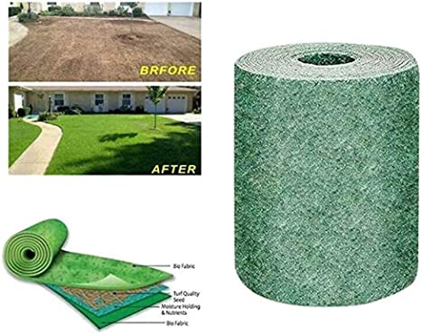 Grass Seed Mat Roll Easier and Lighter Cheaper Water and Observe ...