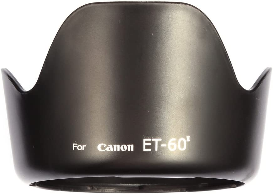 ET-60 II Lens Hood for Canon EF75-300MM F//4-5.6 III EF-S 55-250MM F//4-5.6 is