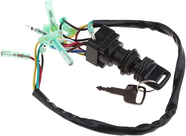 Scatola di Controllo Serratura con Chiave di Accensione con Chiave per Motore Fuoribordo Yamaha 703-82510-43-00