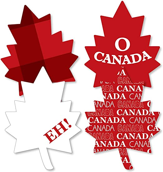 Die Cut Scrapbooking Cards Embellishments Birthday Canada Day Party Maple Leaf Confetti Decorations