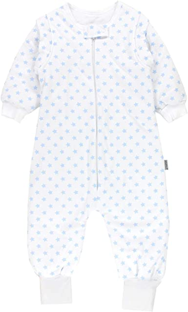Lictin Baby Sleeping Bag Baby Sleep Sack Split Leg with Removable Sleeves Blu...