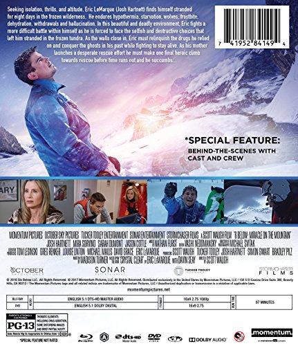 Amazon Com 6 Below Miracle On The Mountain Blu Ray Josh Hartnett Mira Sorvino Sarah Dumont Scott Waugh Movies Tv