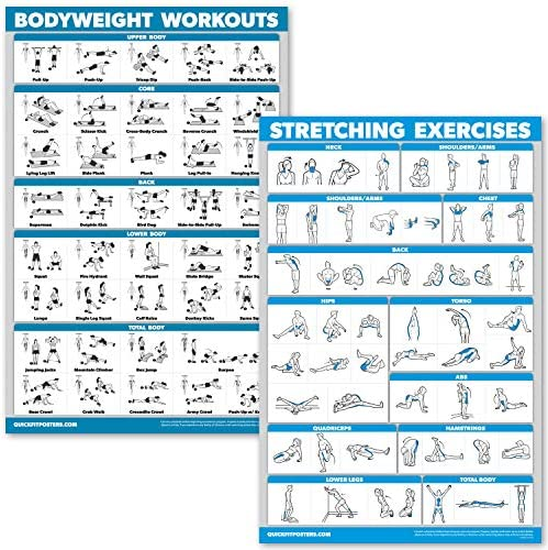 QuickFit Bodyweight Workouts Stretching Exercise product image