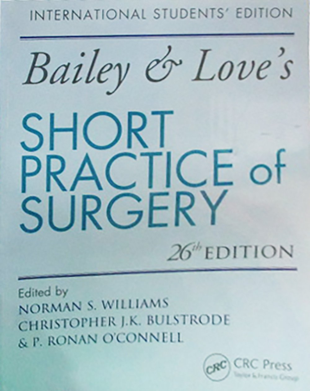 Bailey And Love 25th Edition Pdf