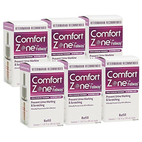 Comfort Zone With Feliway Refill, 6 Pack, New, Free Shipping