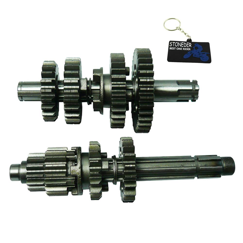 STONEDER Gear Box Main Counter Shafts For Zongshen Z155 155cc Pit Dirt Bike 1P60YMJ