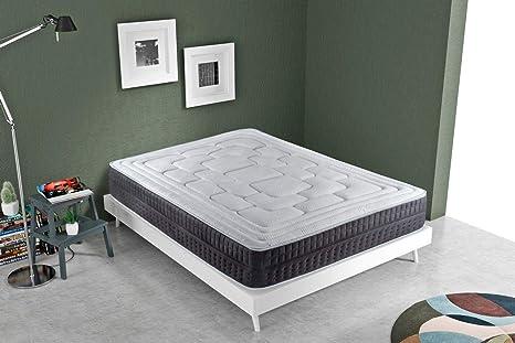 KAMA HAUS   Colchón Cotton Soft Visco   105x190cm   ViscoAvanza   con Algodón   Altura